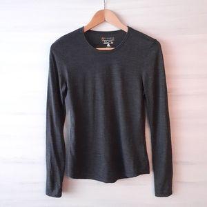 2/$30 ❤ Cloudveil 100% Merino Wool Long Sleeve Tee